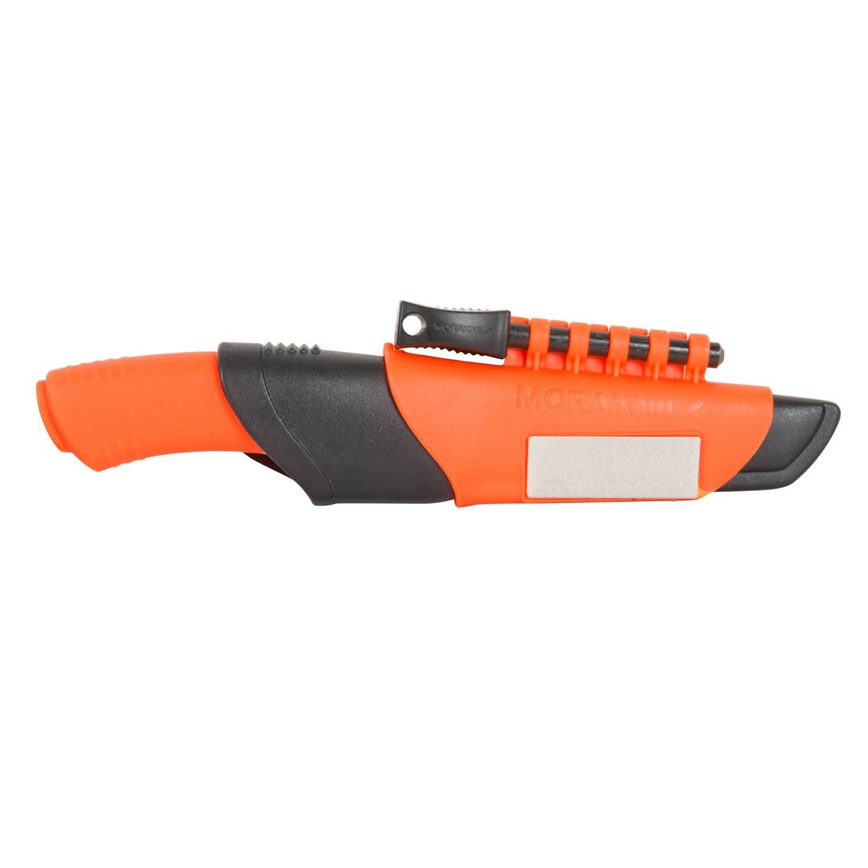 Dao phượt đẹp Mora Bushcraft Survival Orange