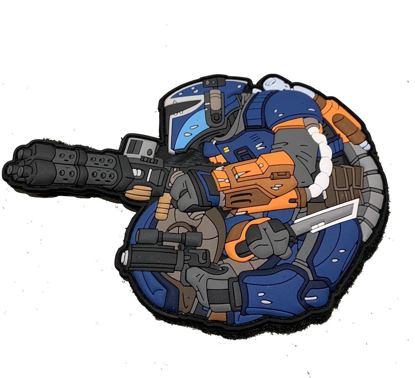 Chameleon Heavy Gunner – Blue