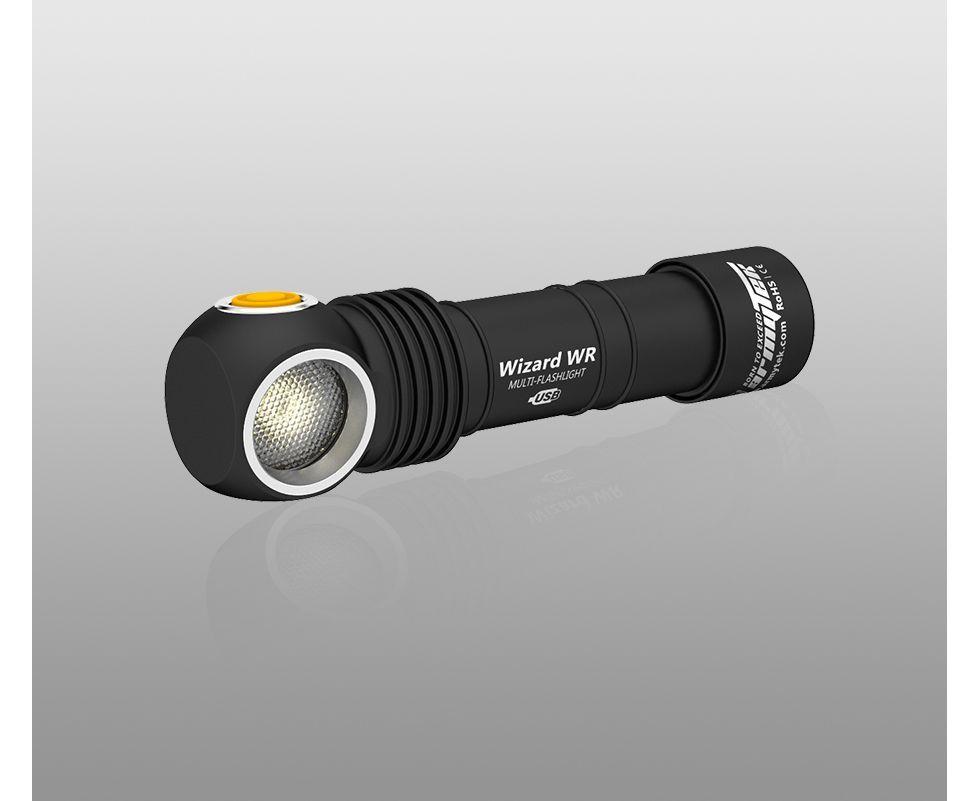 Đèn Pin Armytek WIZARD WR MAGNET USB – (WARM/RED LIGHT)