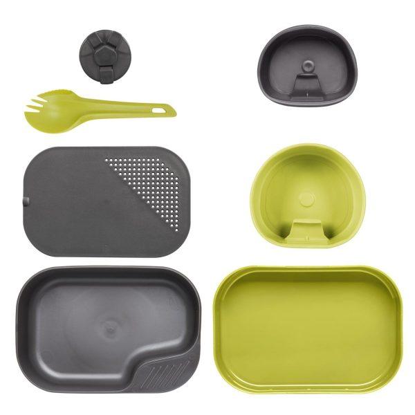 Wildo® CAMP-A-BOX® Complete – Lime / Dark Grey A