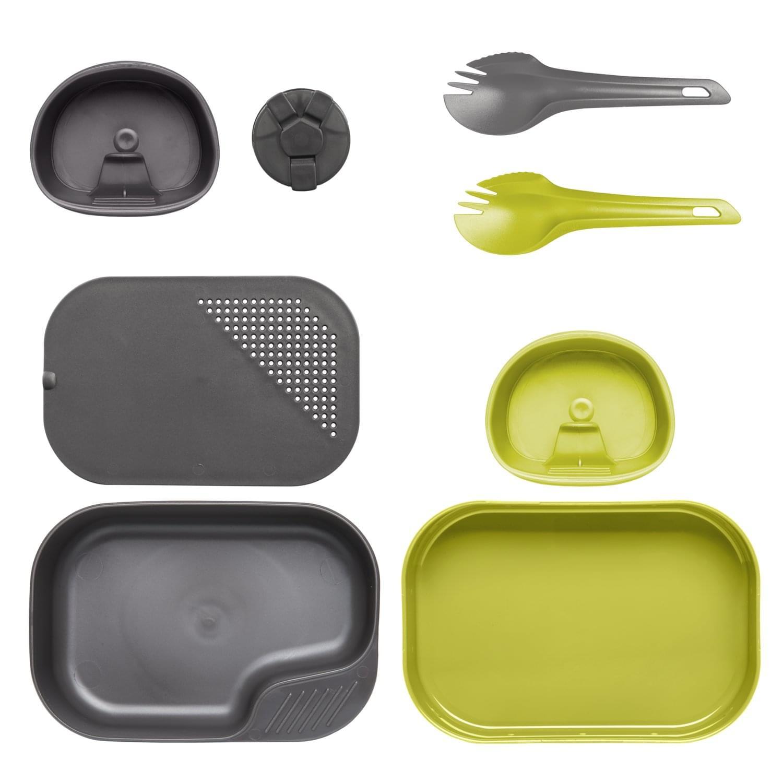 Wildo® CAMP-A-BOX® Duo Complete – Lime / Dark Grey A