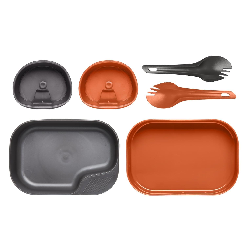 Wildo® CAMP-A-BOX ® DUO Light – Orange / Dark Grey A