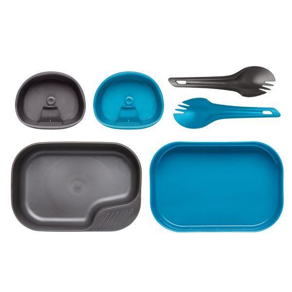 Wildo® CAMP-A-BOX® DUO Light – Light Blue / Dark Grey A