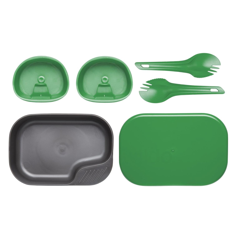 Wildo® CAMP-A-BOX® DUO Light - Green / Sugarcane