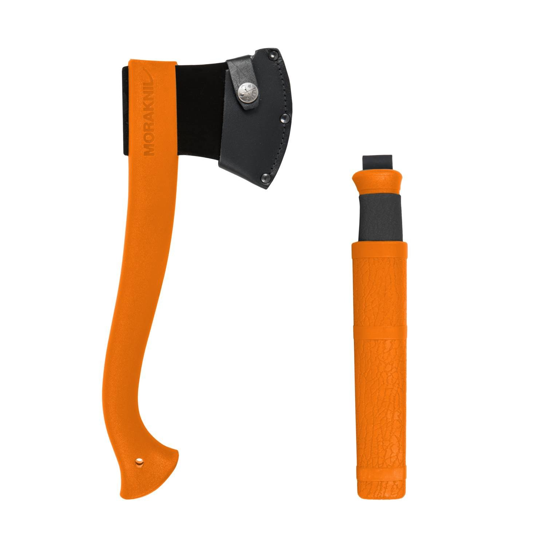 MORAKNIV® AXE & KNIFE OUTDOOR KIT - Orange
