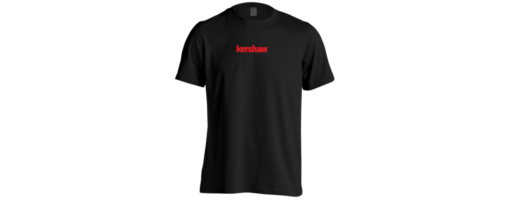 KERSHAW T-SHIRT - BLACK