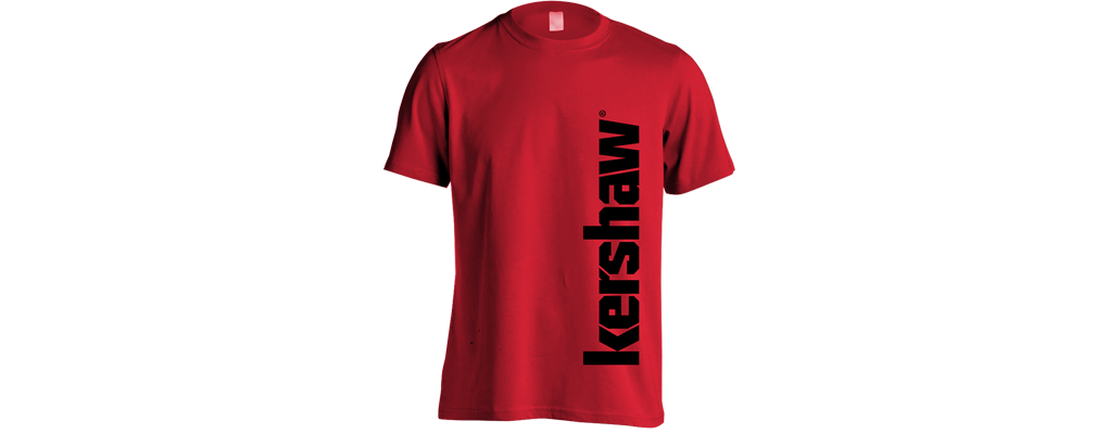 KERSHAW T-SHIRT - RED