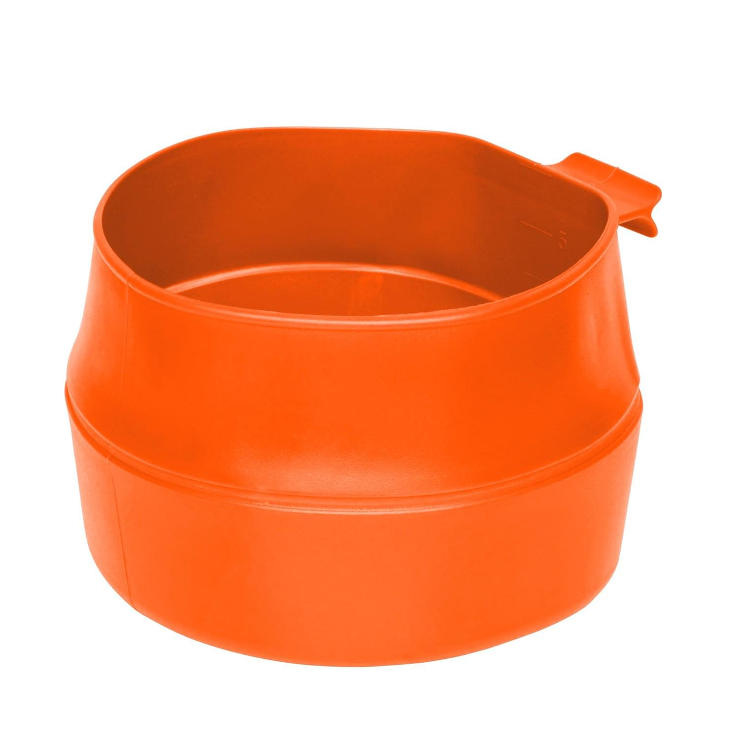 Wildo® FOLD-A-CUP® BIG – TPE – Orange