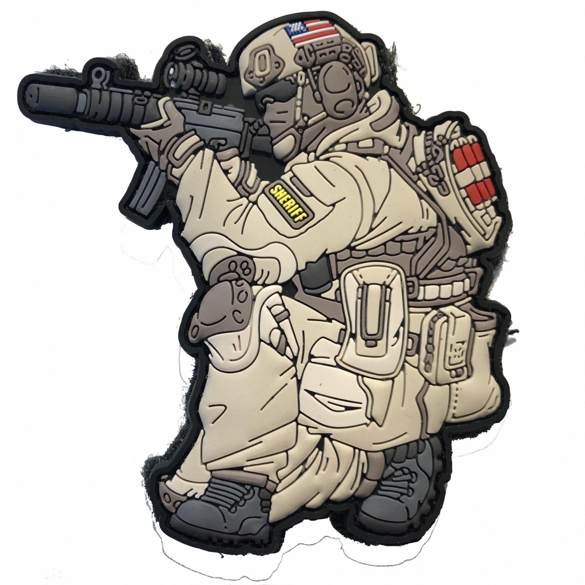 SOF – Operator Patch – US Sheriff