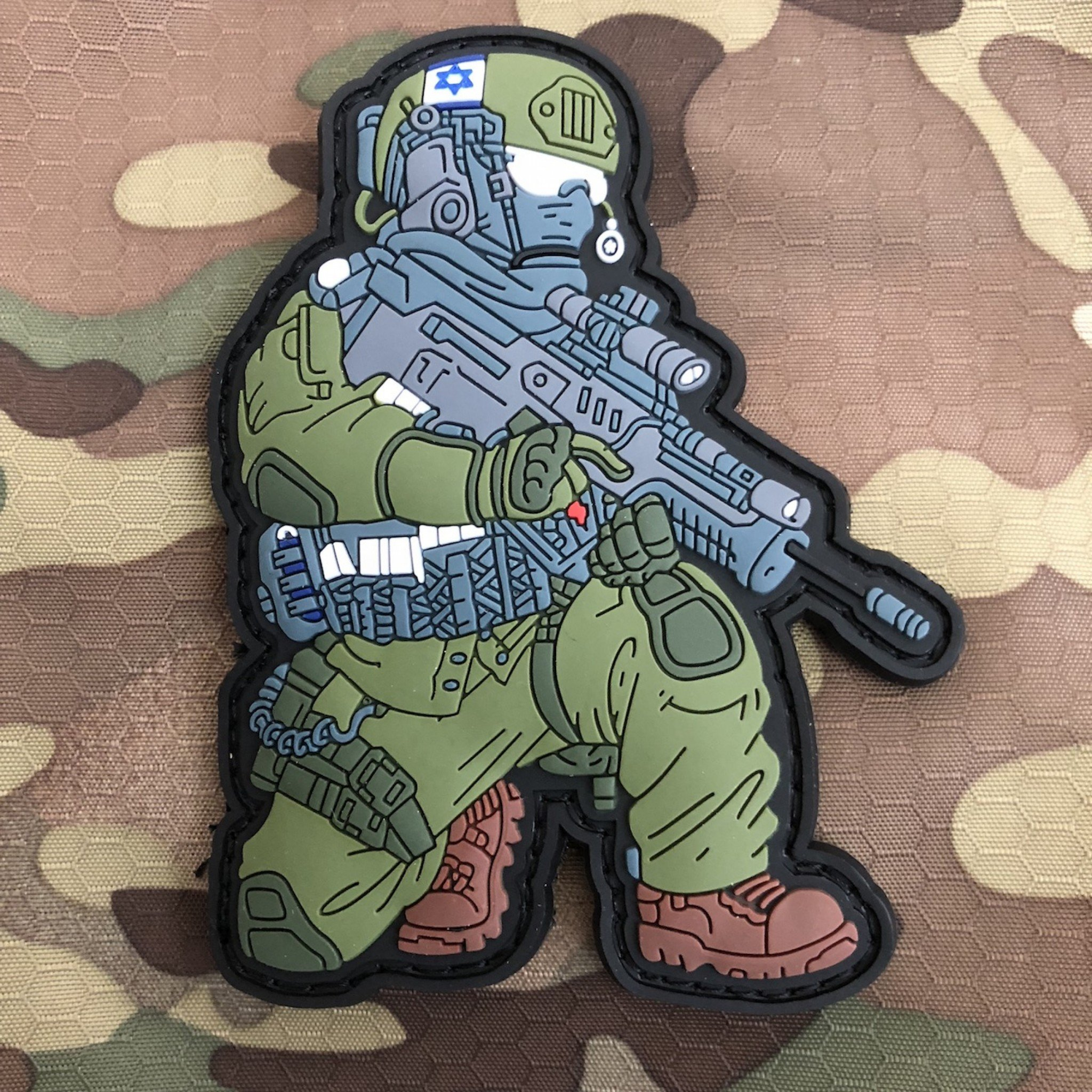 IDF – Israel Defense Forces Operator Patch – Tzahal