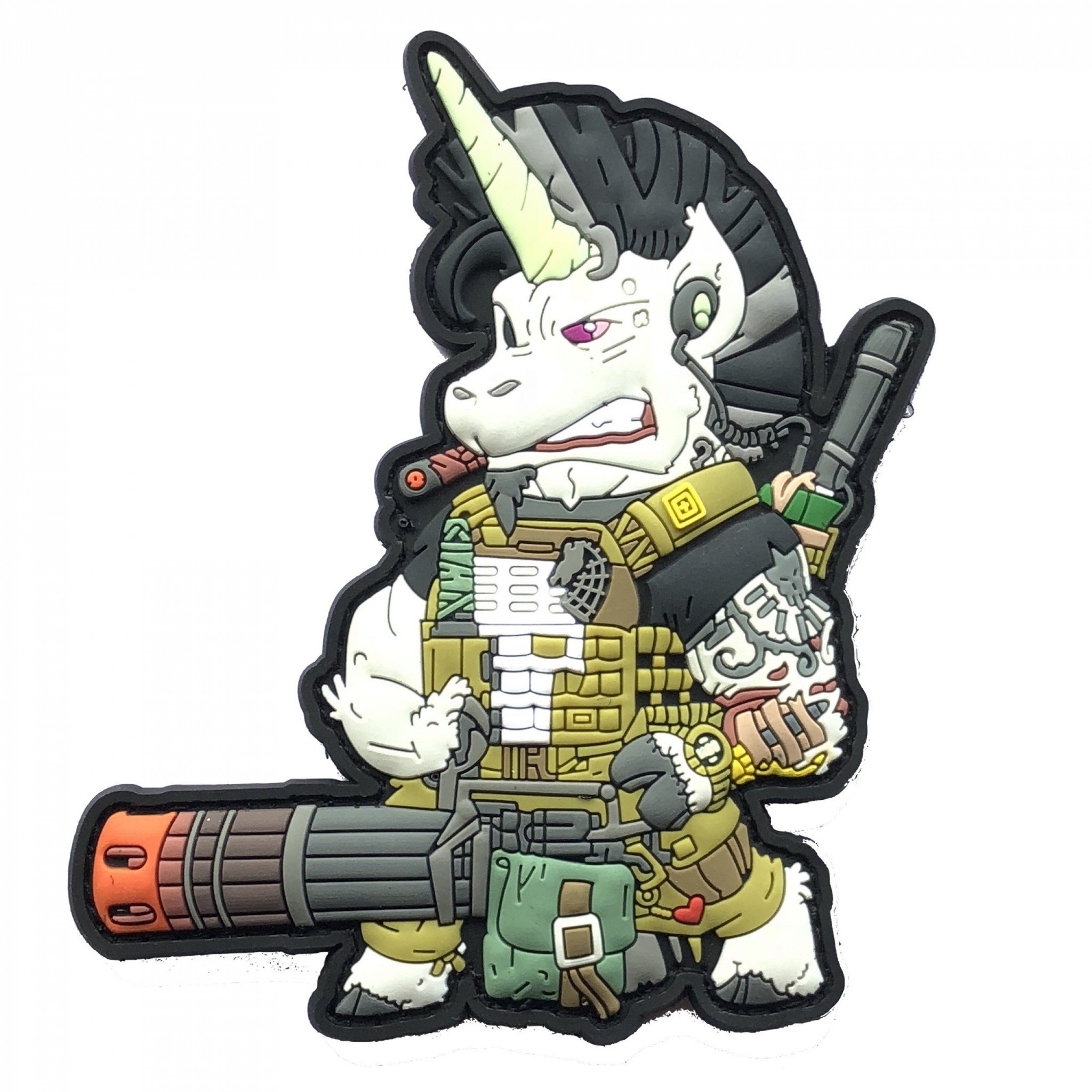 Tactical Unicorn Patch – Mystic Warrior
