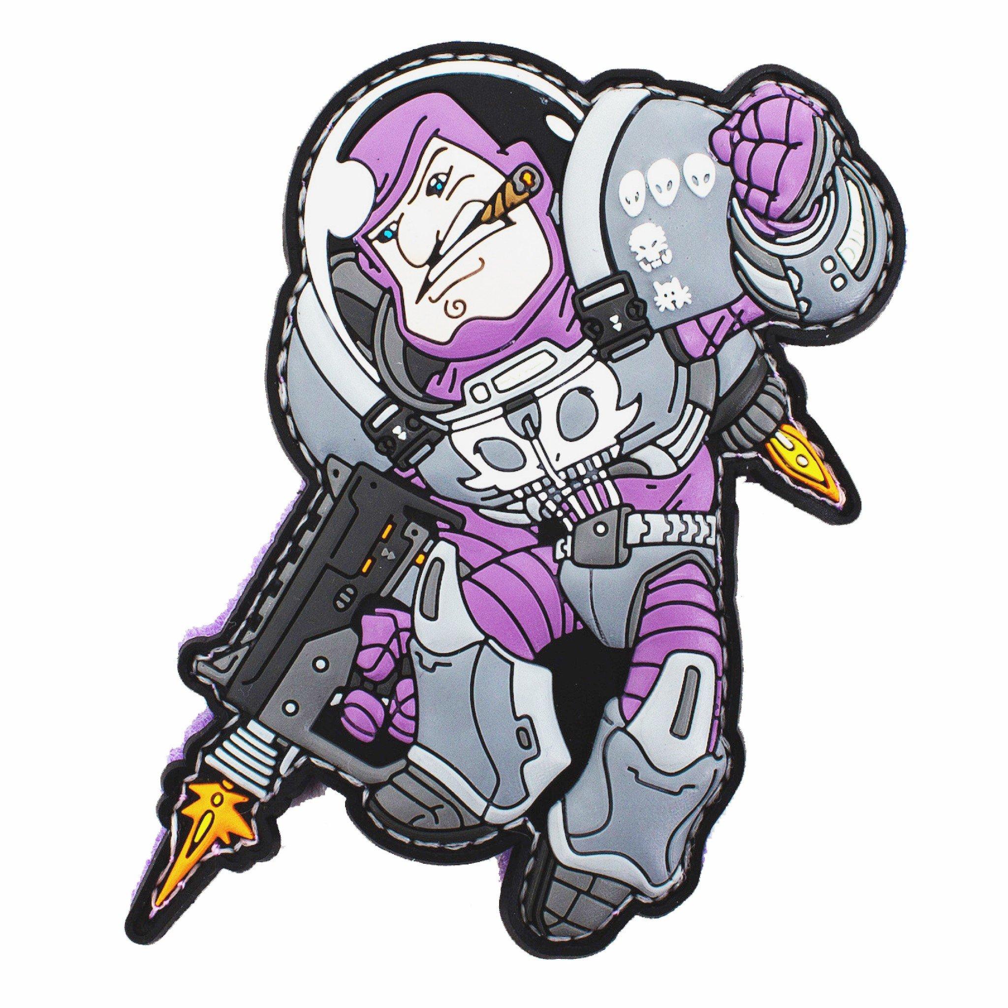Space Force Marine Vs Alien Patch