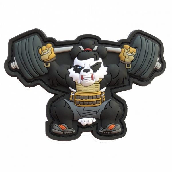Workout Xfit Fitness Panda Weightlift Edition