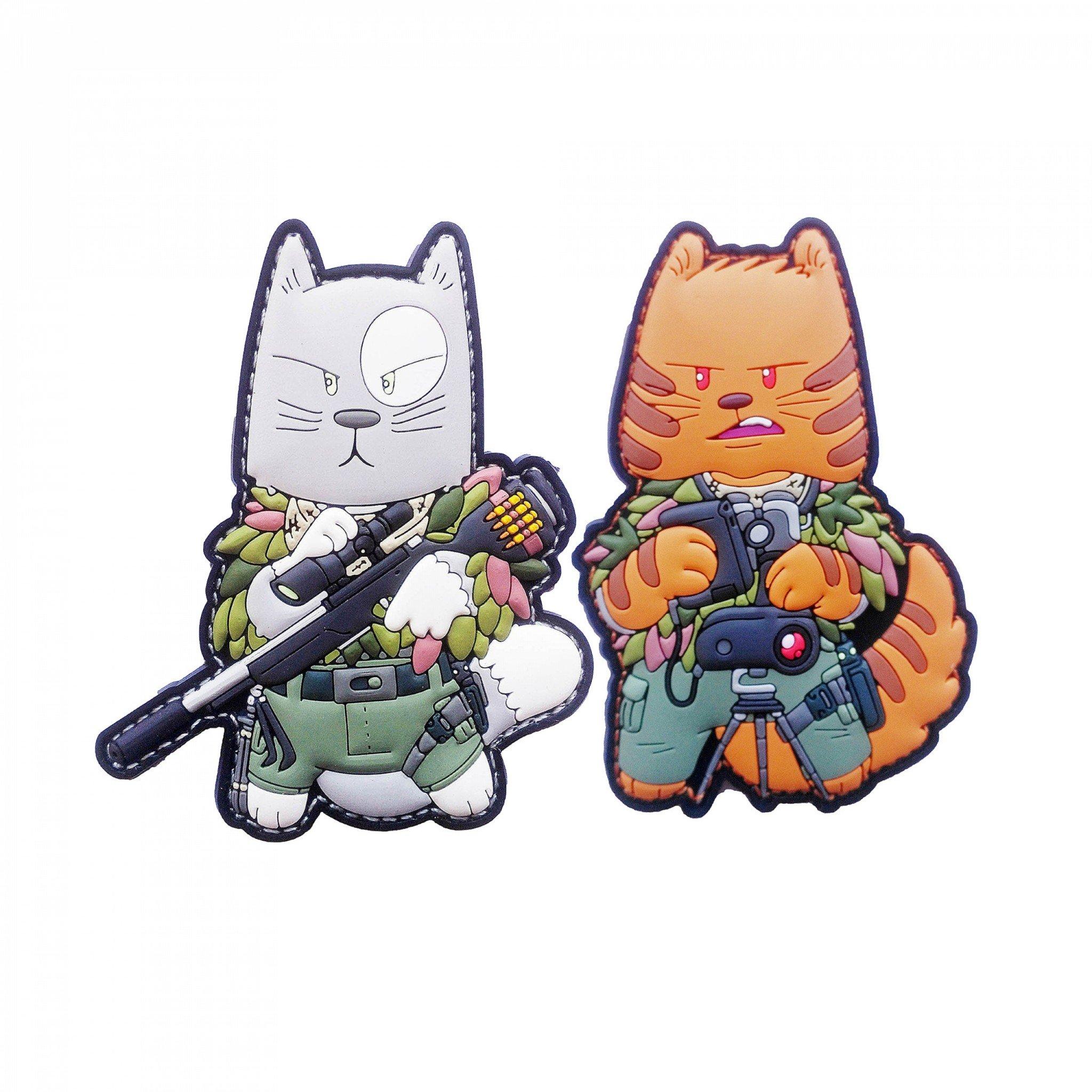 TACCAT tactical Cat Squad Sniper Spotter Patch