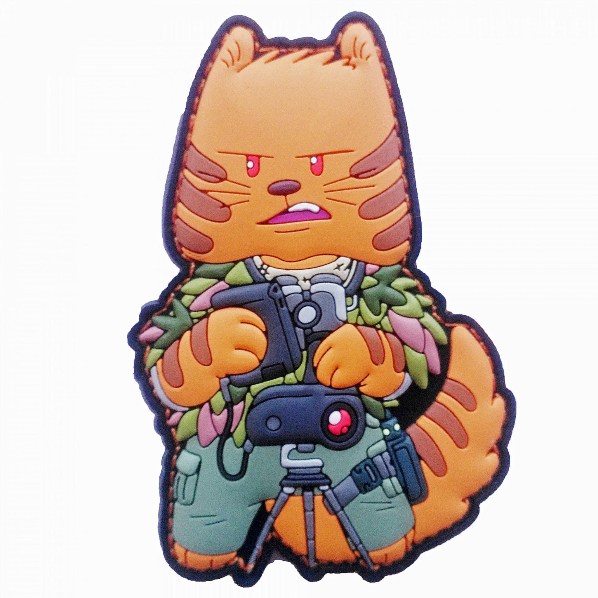 TACCAT tactical Cat Squad Sniper Spotter Patch