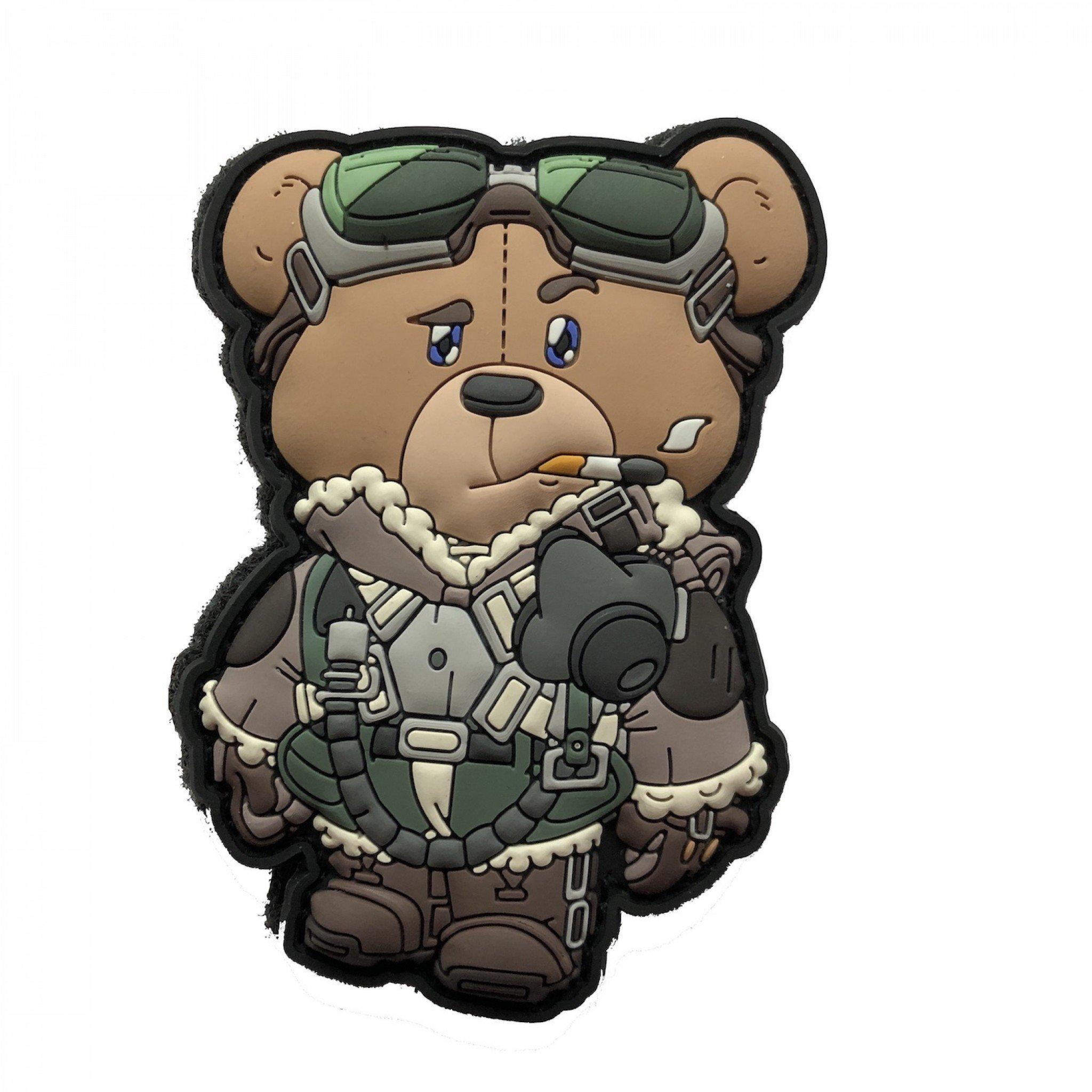 "WAR BEARS VOL. 1 WW2 WORLD WAR TWO ""THE FEW"" FIGHTER PILOT PATCH (GB)"