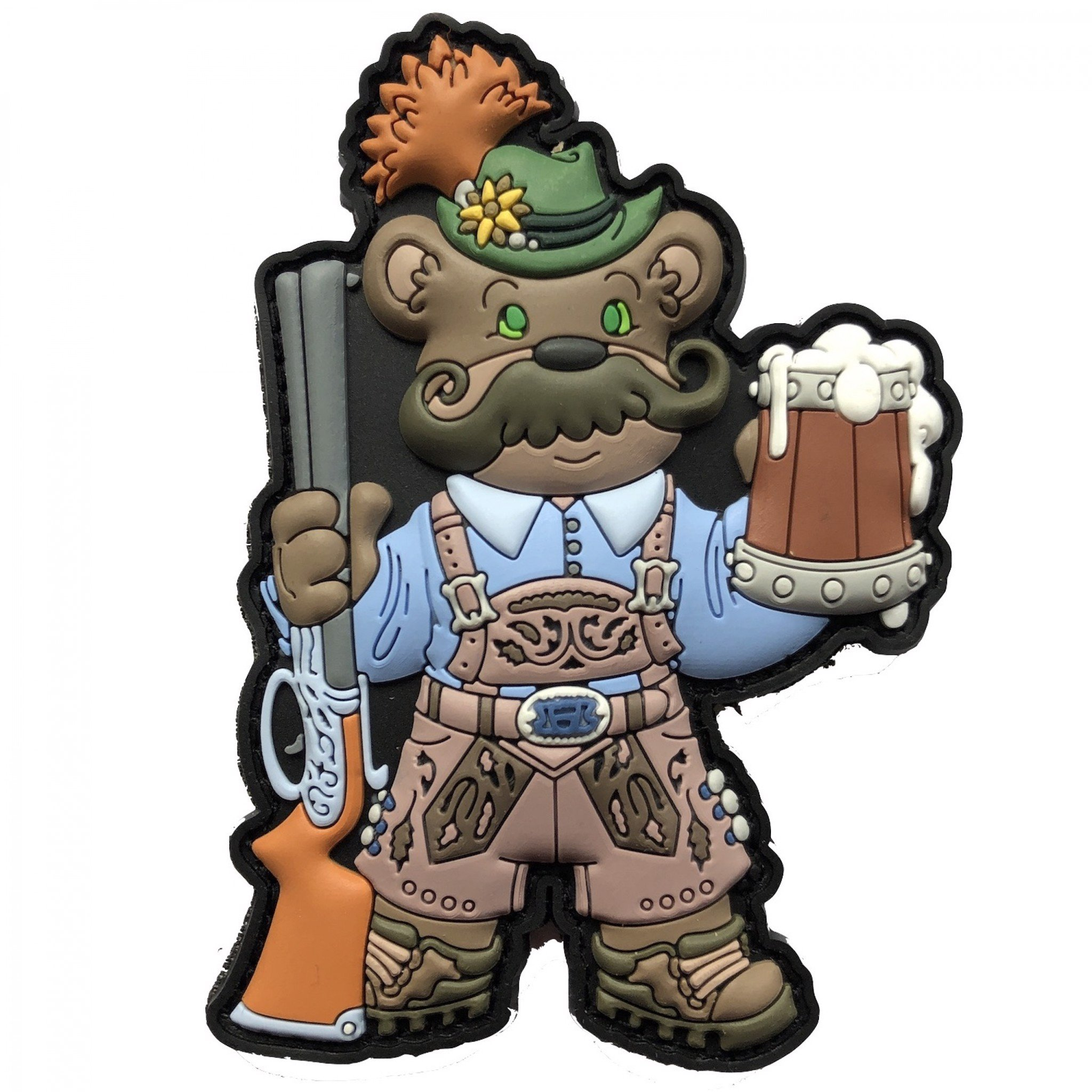 THE BEARVARIANS TRADITIONAL BAVARIAN BEAR