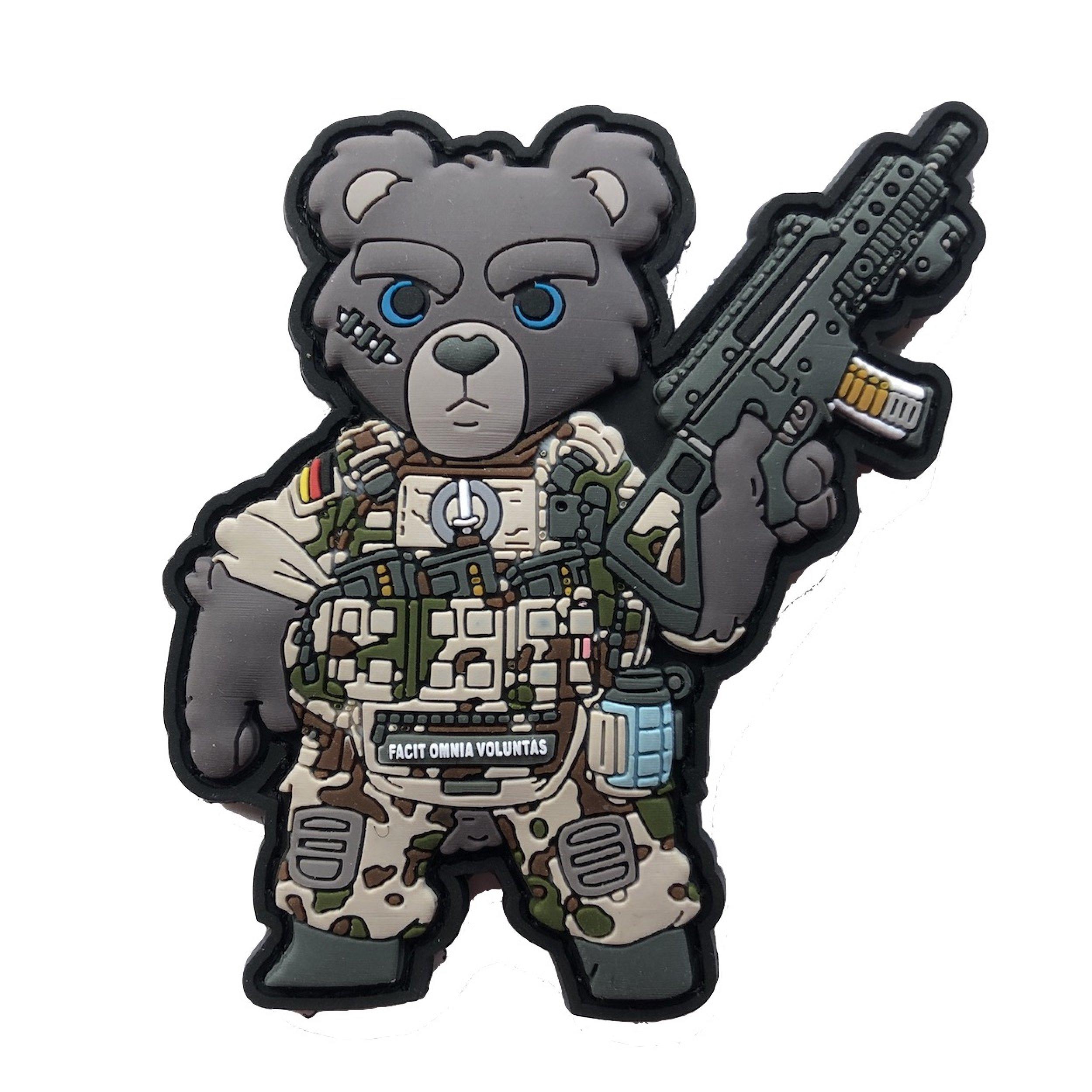 TEDDY BUNDESWEHR SOLDAT TROPENTARN PATCH