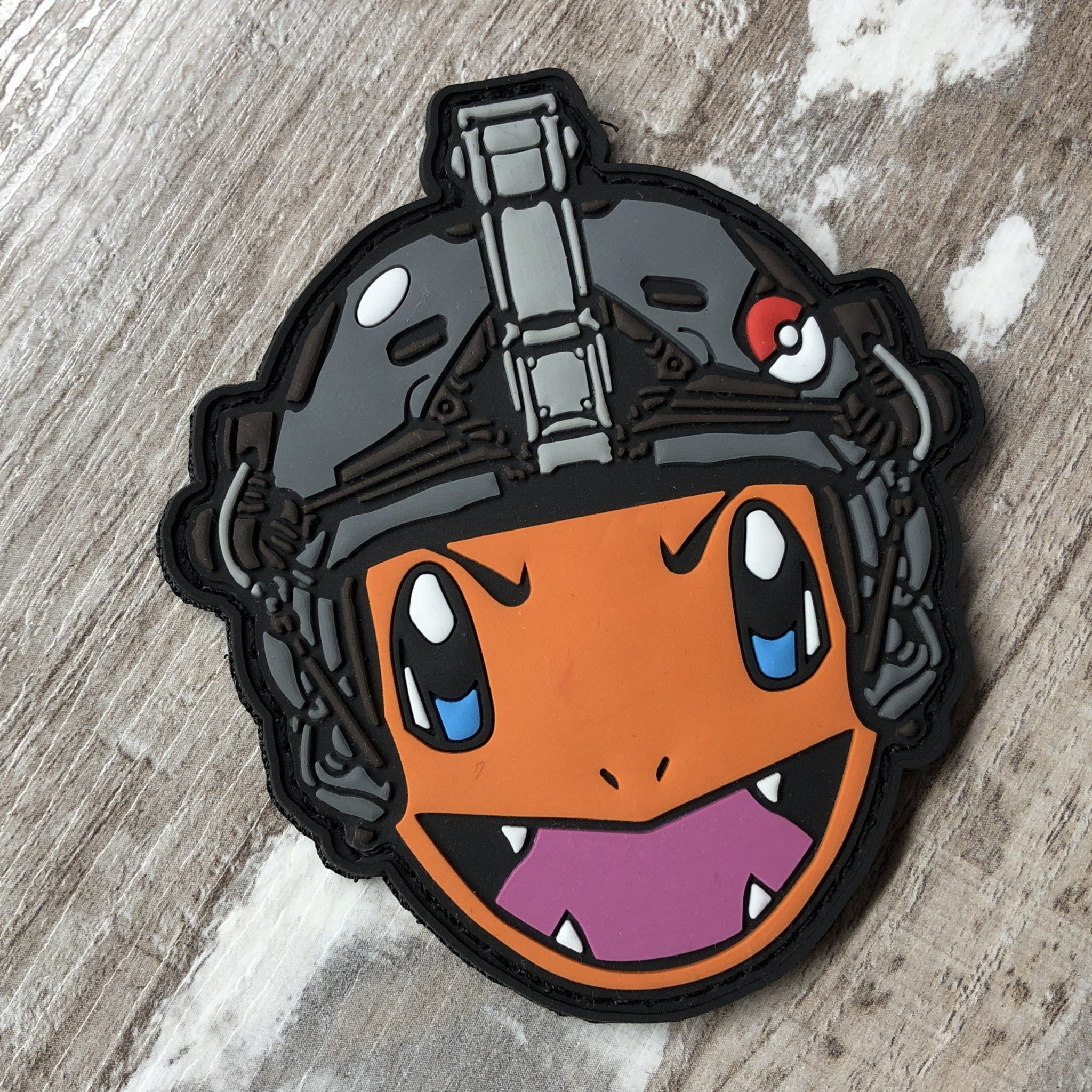 TACTICAL POKE NR. 004 ROT PVC PATCH