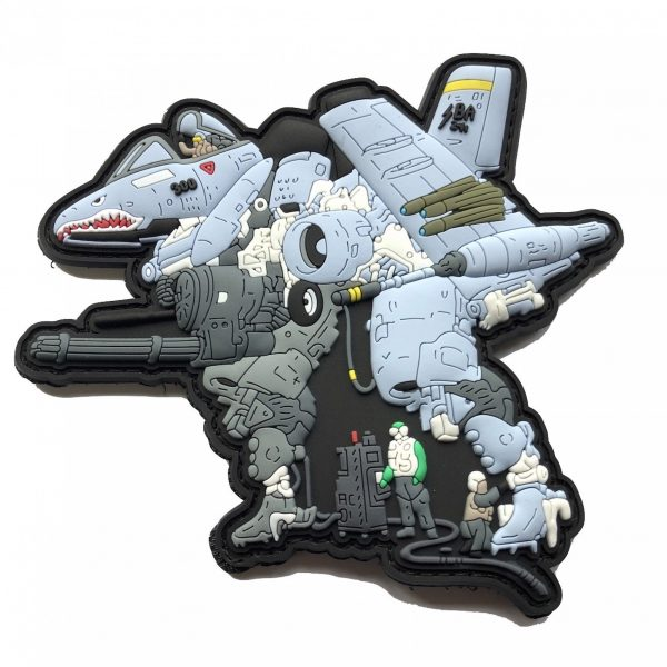 A10 WARTHOG MECH MACROSS PATCH