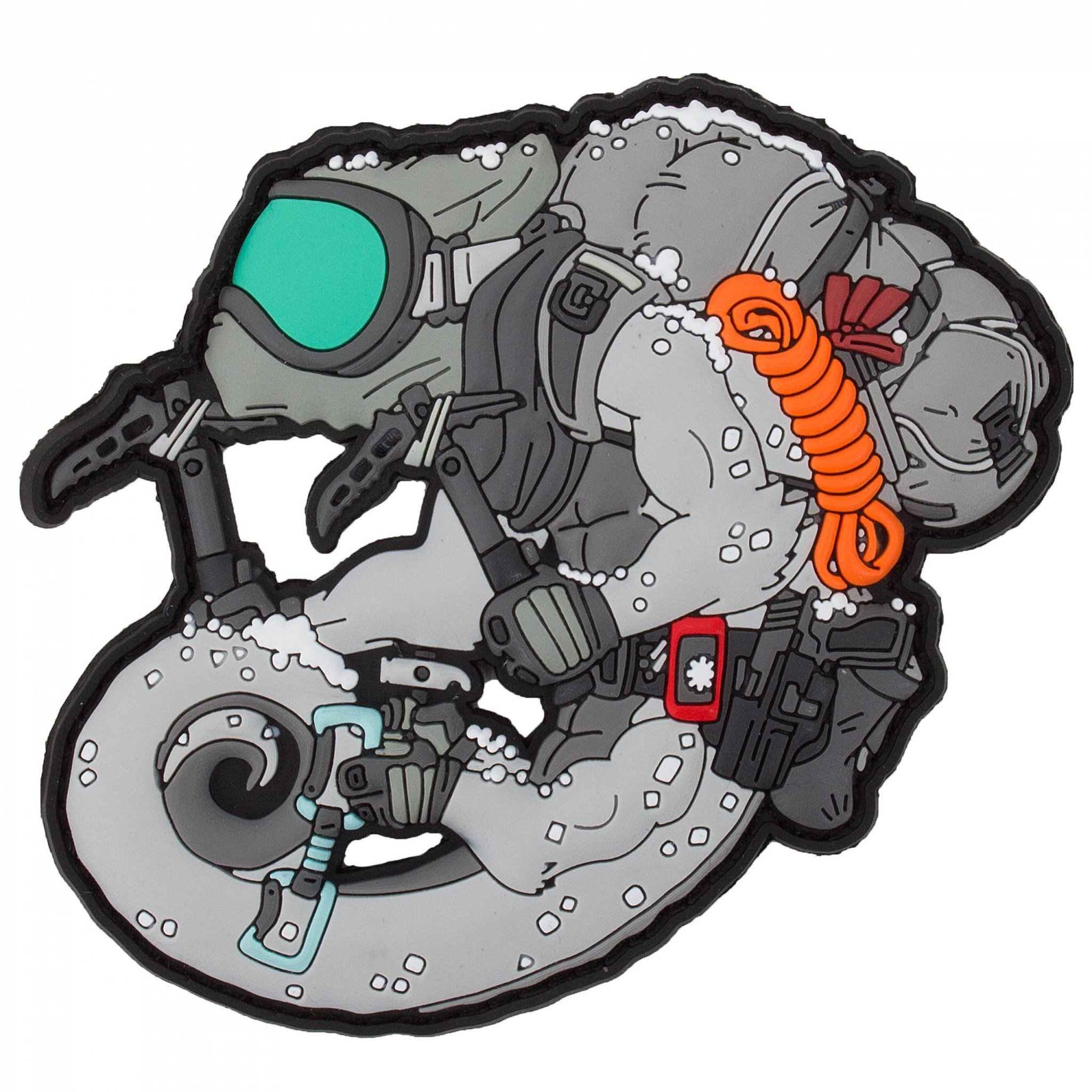 TACTICAL CHAMELEON ARCTIC OPERATOR PATCH