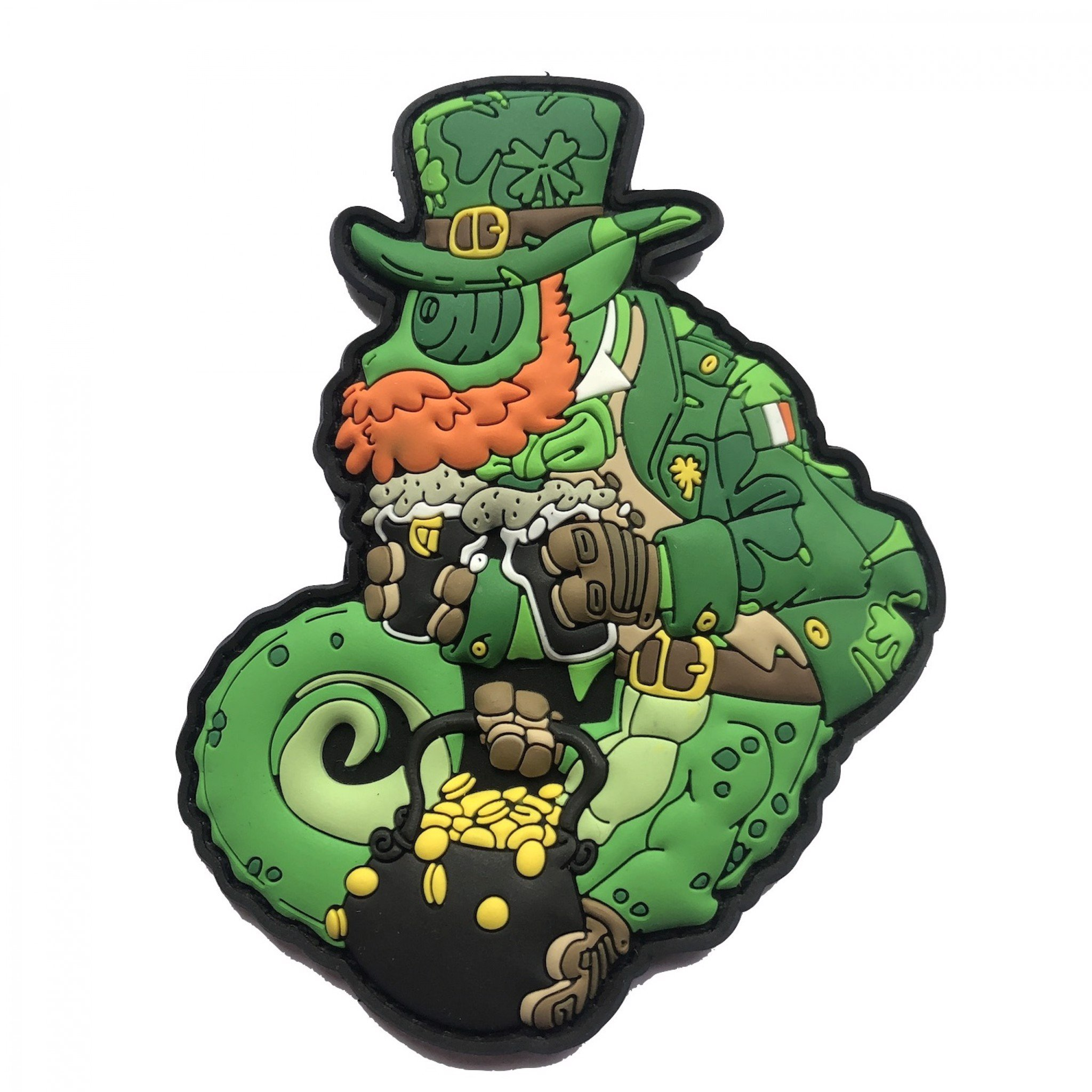 TACTICAL CHAMELEON ST. PATRICK'S OPERATOR PATCH