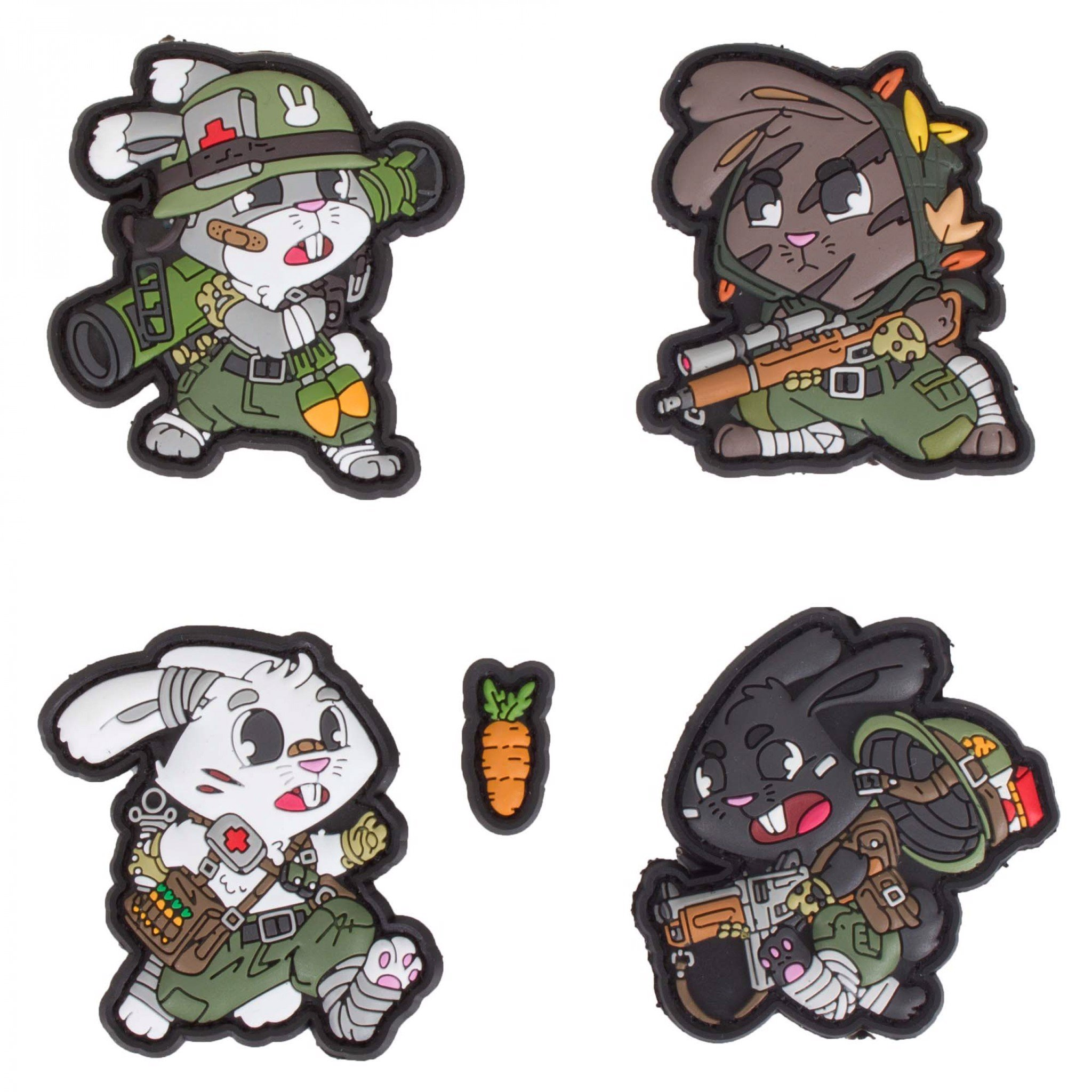 TACTICAL SUPPORT BUNNY  PATCH