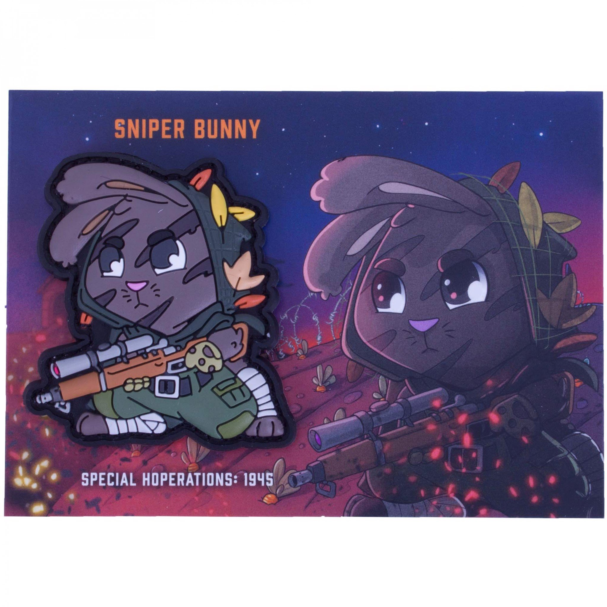 TACTICAL SNIPER BUNNY PATCH
