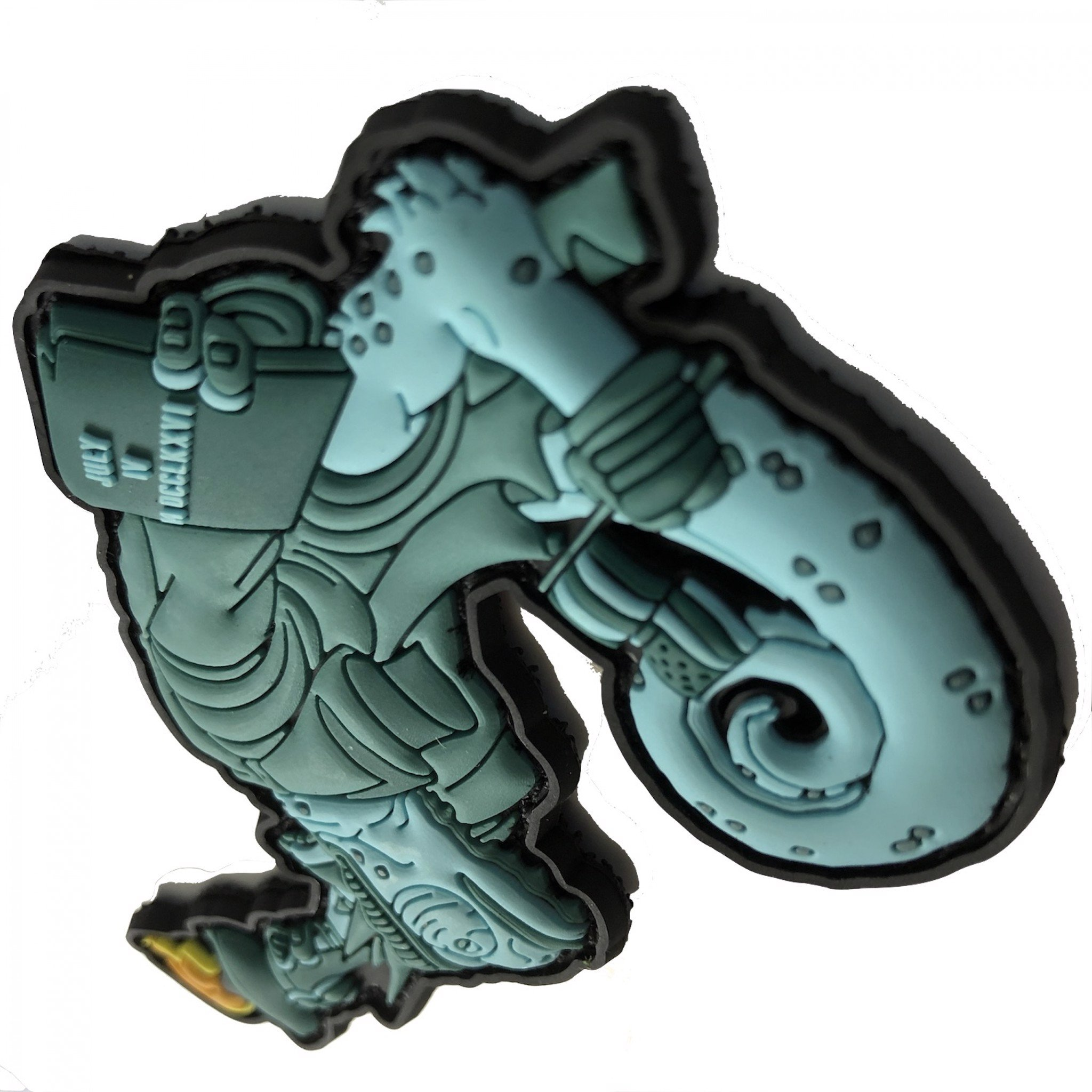 TACTICAL CHAMELEON LEGION LIBERTY LILY PATCH