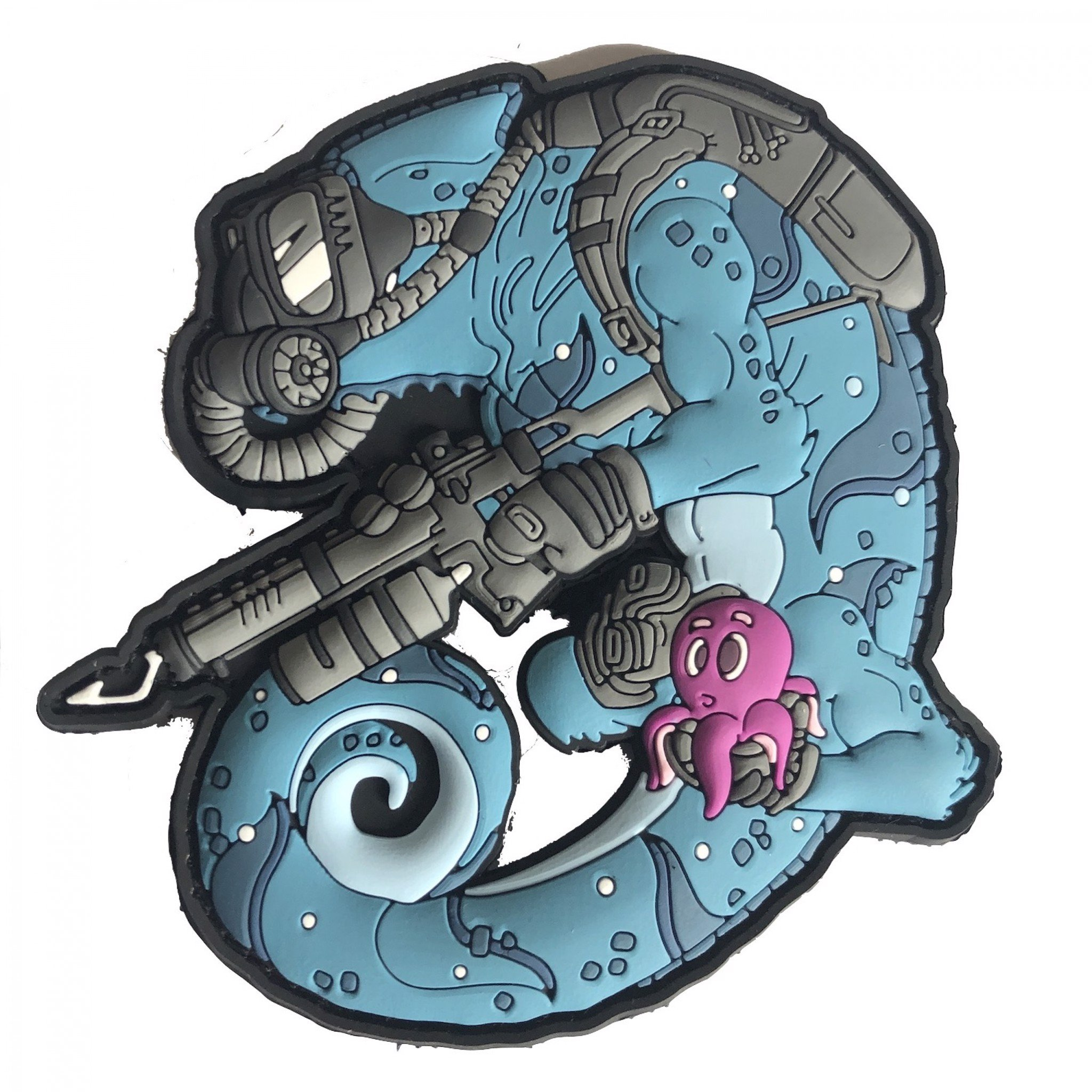 CHAMELEON LEGION DIVER TAUCHER OPERATOR PATCH