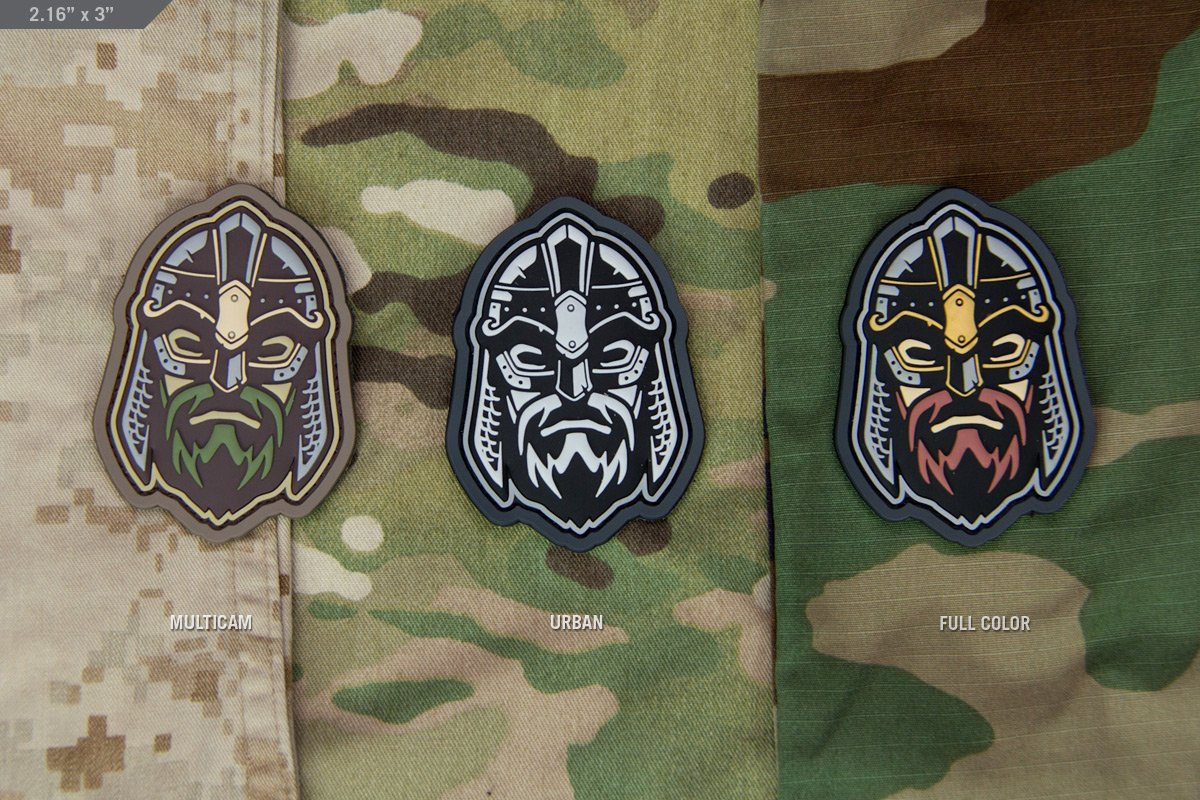 VIKING WARRIOR HEAD 2 MORALE PATCH