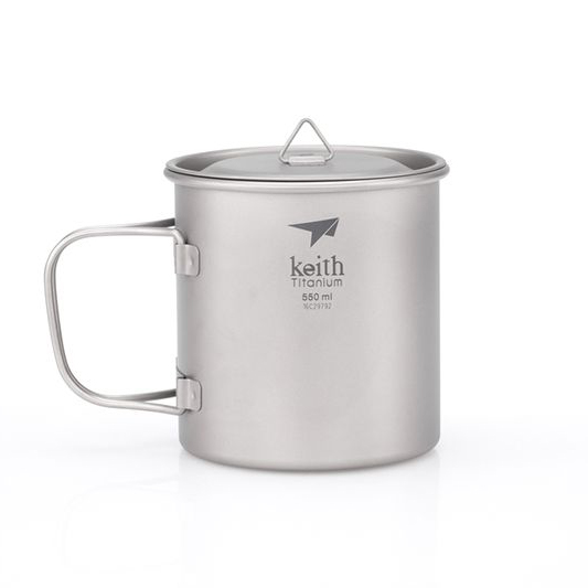Keith Ti3206 - Ca Titanium 1 Lớp 550ml