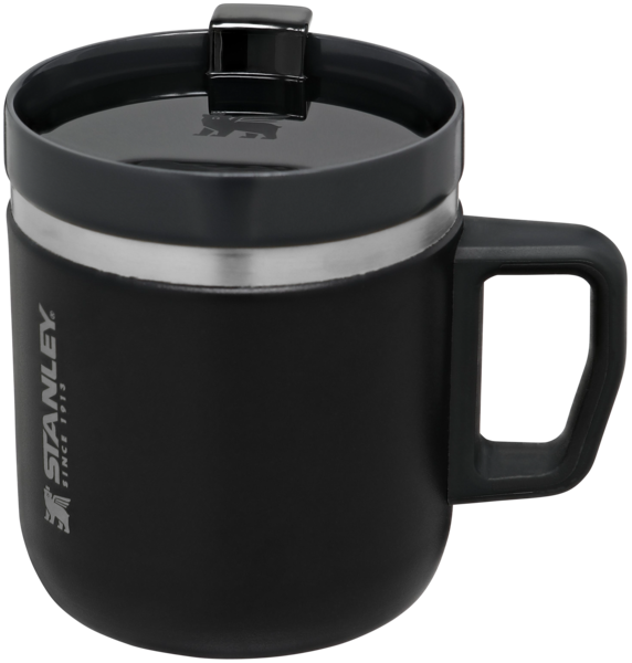 The Ceramivac GO Coffee Mug 350ml - 12oz (Đen)