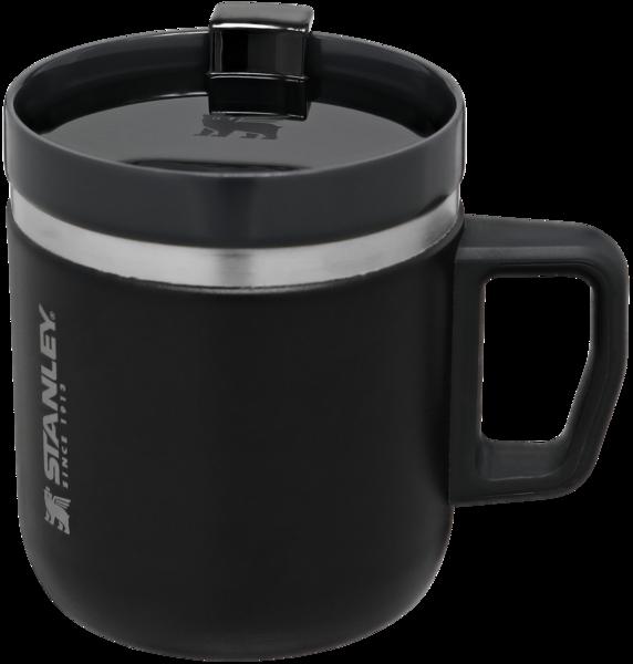 The Ceramivac GO Coffee Mug 350ml – 12oz (Đen)
