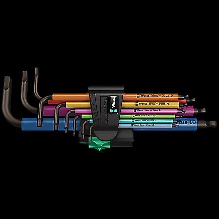 Bộ Lục Giác Wera Hex- Plus 950/9 Multicolour 1