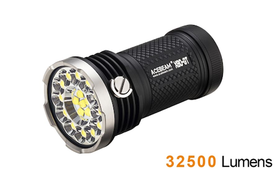 Acebeam X80-GT thiết kế nhỏ có độ sáng lớn