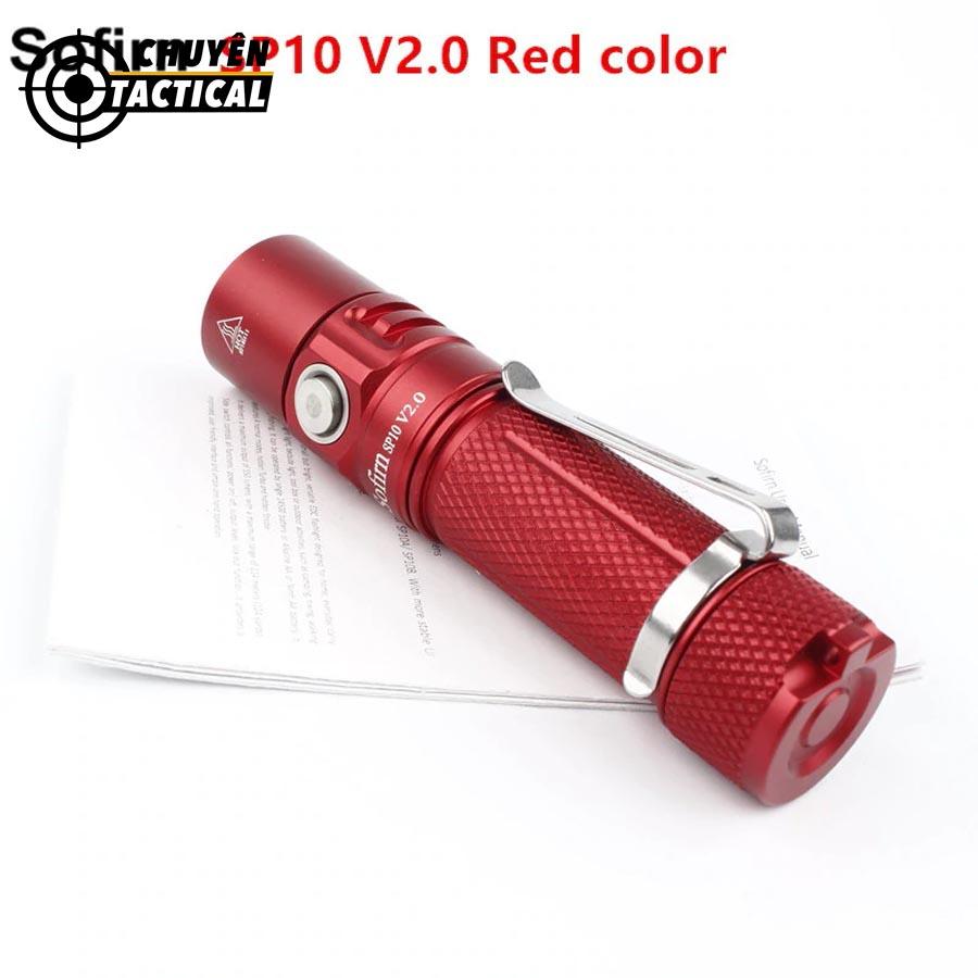 Đèn pin sofirn sp10 v2.0 dễ dàng sử dụng
