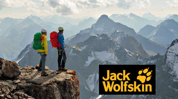 Jack Wolfskin là một trong các hãng balo
