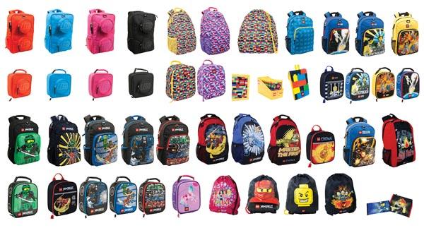 Lego Bags đa dạng về kích thước phù hợp với mọi lứa tuổi