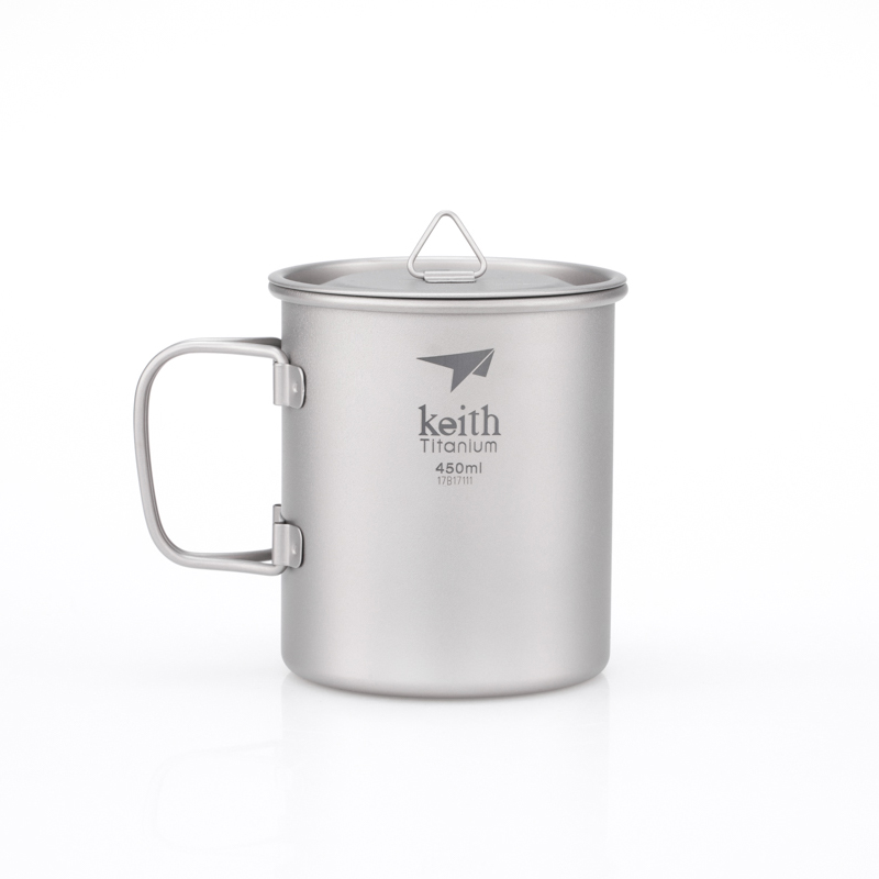 KEITH TI3204 - CA TITANIUM SINGLE 450ML