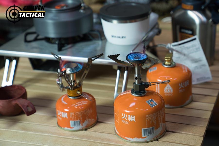5 lí do nên chọn bình gas tròn Fire Maple