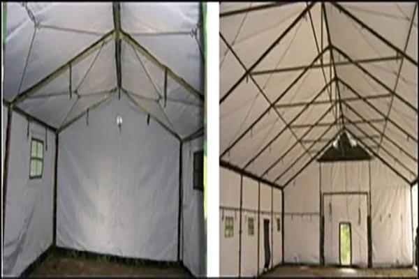 cách dựng lều cắm trại Lều hình vuông