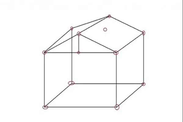 cách dựng lều trại đơn giản lều hình vuông