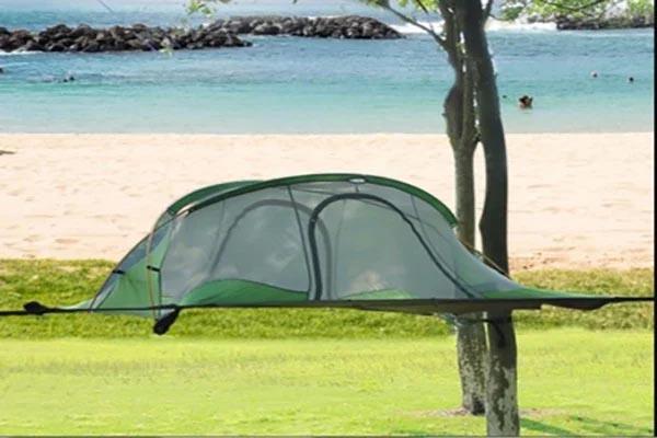 cách dựng lều võng cắm trại