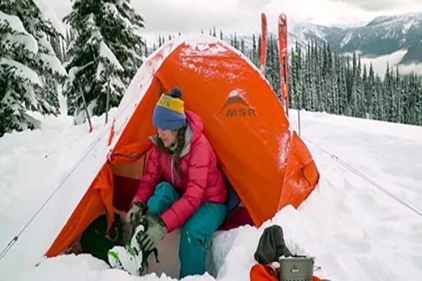 cách làm lều trại 4 mùa