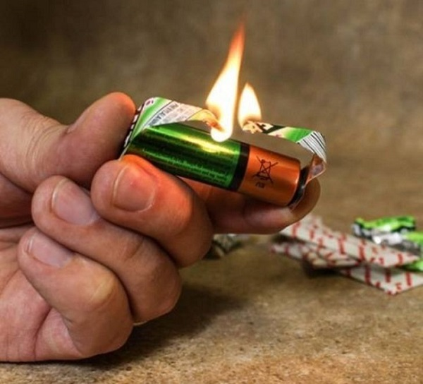 cách tạo ra lửa đơn giản