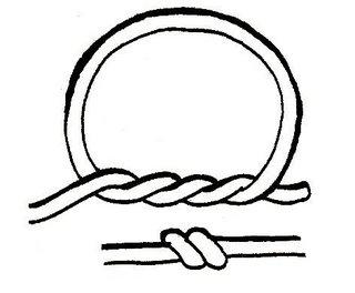 Cách thắt nút dây đôi