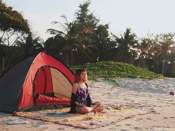 cắm trại ở sài gòn