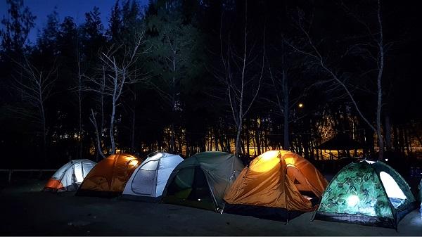 cắm trại qua đêm gần sài gòn