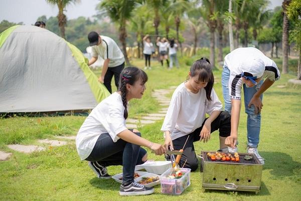 cắm trại tại sài gòn